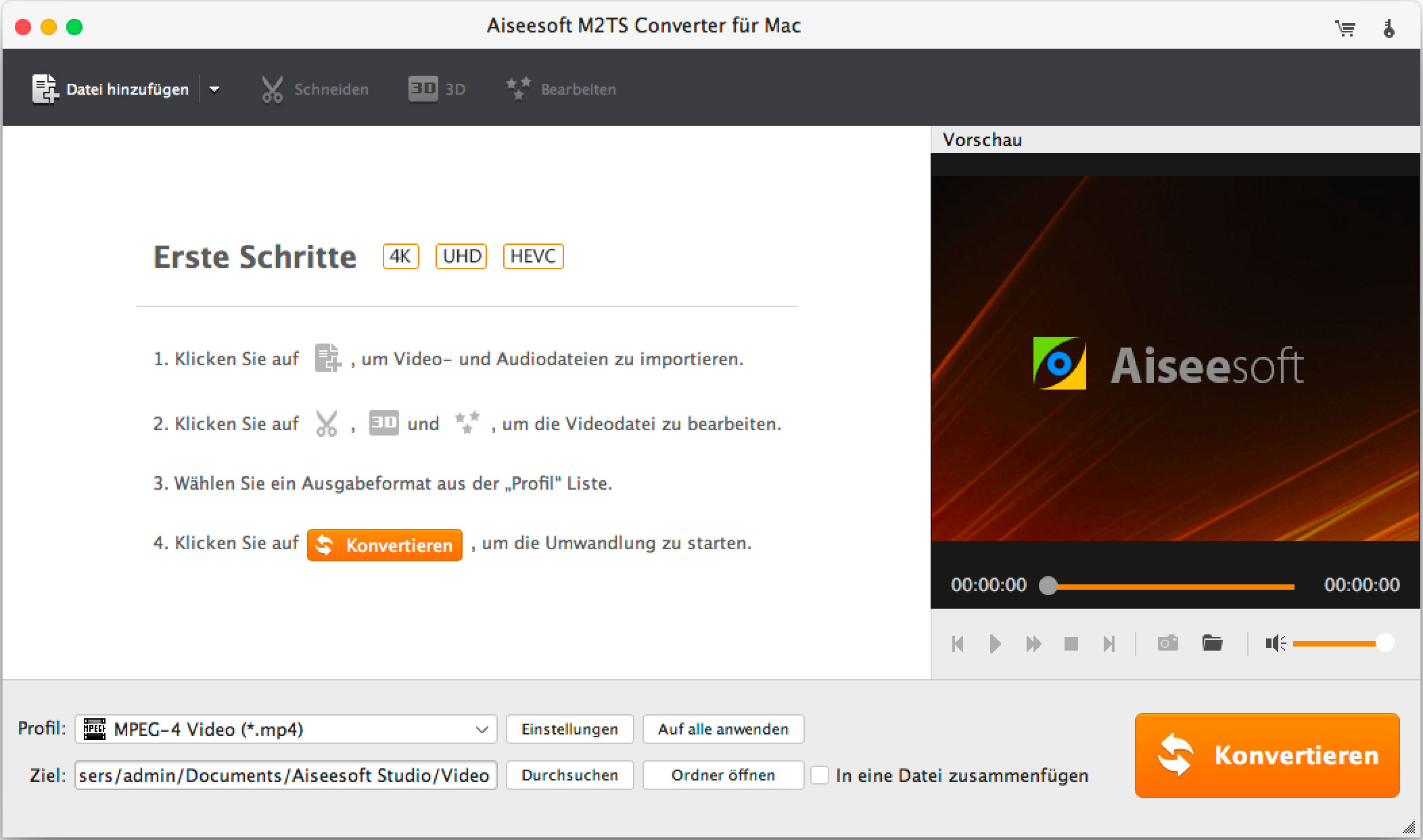 M2TS Video Converter für Mac