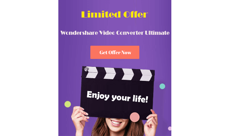 wondershare video converter ultimate 7% off discount
