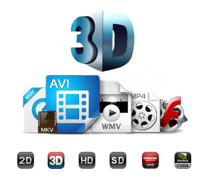 wondershare video converter ultimate, 3d videos umwandeln